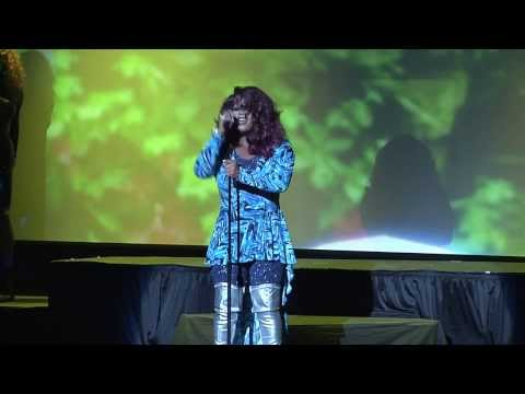 Delila B. Lee performs @ Shi-Queeta-Lee's Valentine's Salute To The Divas @The Howard Theatre