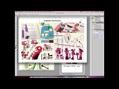 Art Direction for Character Designers with Nate Wragg  | Master Class Demo
