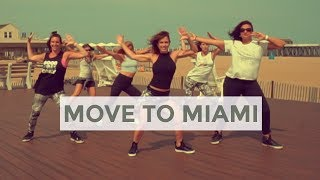 Move to Miami, by Enrique Iglesias Fest. Pitbull - Carolina B