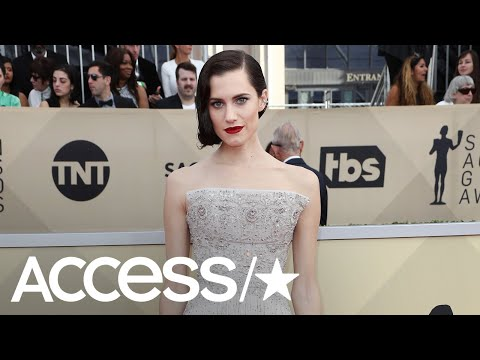 Allison Williams Goes Retro Glam At The 2018 SAG Awards! | Access