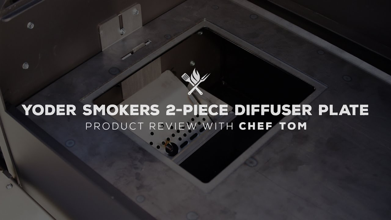 Yoder Smokers Heat Diffuser with Access Door