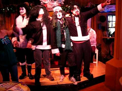 "2008 Santa Crawl ""KISSMAS"" Farwell Tour @ Rum Bullions"