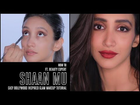 How To ft. Shaan Mu - Runway inspired Easy Bollywood Glam look