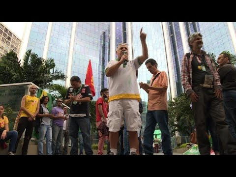 After truckers, Brazil oil workers go on strike