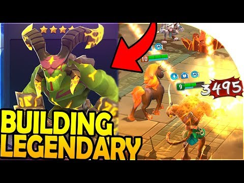 BUILDING the LEGENDARY SQUAD ( FREE + *NEW* ) - Might And Magic Elemental Guardians Gameplay - 동영상