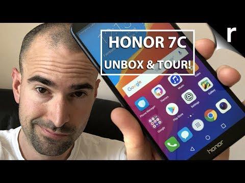Honor 7C Unboxing & Full Tour