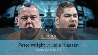 Peter Wright vs Jelle Klaasen | BetVictor World Matchplay Preview Show
