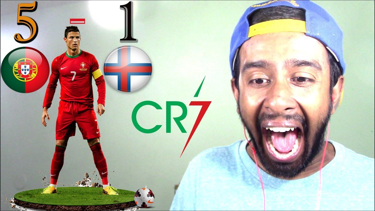 Download Portugal vs Faroe Islands 5-1 - Goals & Highlights - World Cup Qualifiers 31.08.2017 HD(REACTION)