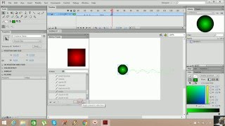 Flash Cs6 AS 3.0 Motion Presets Penceresi