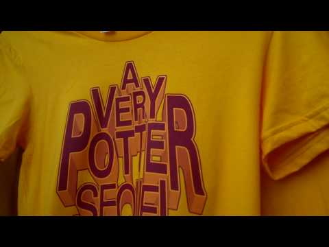 A Very Potter Sequal tshirts