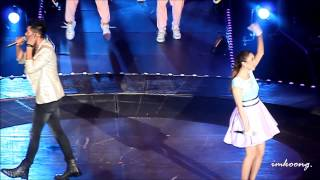 [fancam] Weir and Min @ Give Me 5 [20141025]