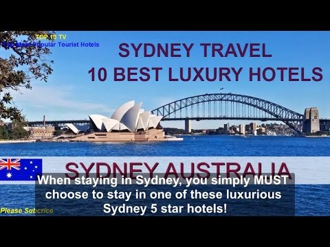 Top 10 Most Luxurious 5 Star Hotels Sydney Has On Offer! | AUSTRALIA TRAVEL BLOG