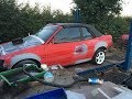 Ford Escort Cabriolet MK5 Build Part 8 - Radiant Red but still dead....