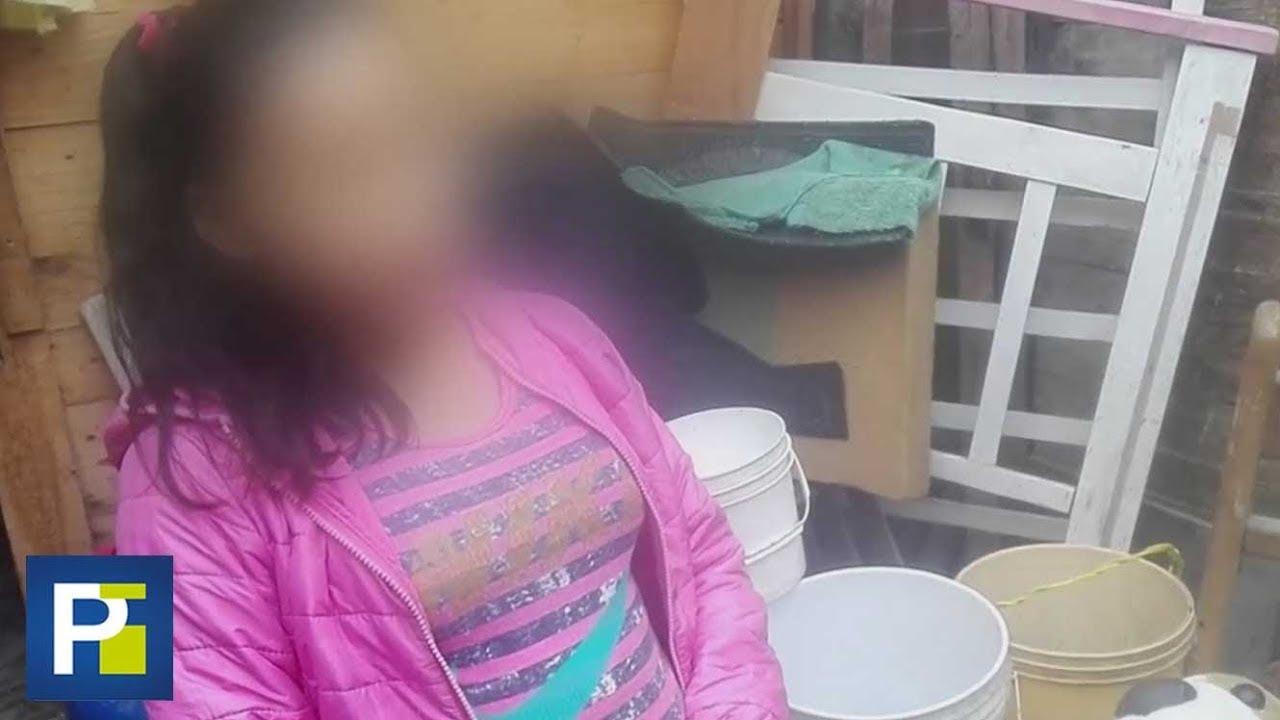 Tiene 9 años y está embarazada porque el novio de su madre la violó [2:13x720p]