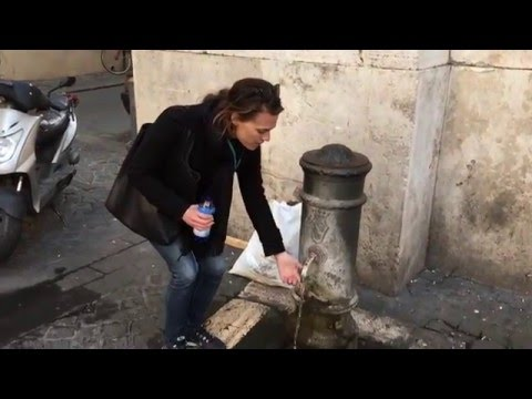 Rome's Water Fountains with LivItaly Tours