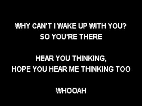 TAKE THAT - WHY CAN'T I WAKE UP WITH YOU KARAOKE