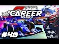 F1 2019 CAREER MODE Part 48: MOVING TO TORO ROSSO! MID-SEASON RED BULL DRIVER SWAP!