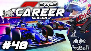 One of aarava's most viewed videos: F1 2019 CAREER MODE Part 48: MOVING TO TORO ROSSO! MID-SEASON RED BULL DRIVER SWAP!