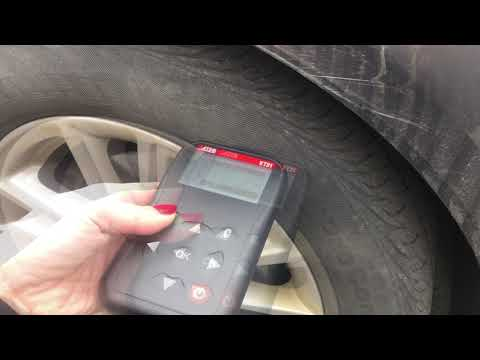 Ford TPMS reset - Manual Relearn