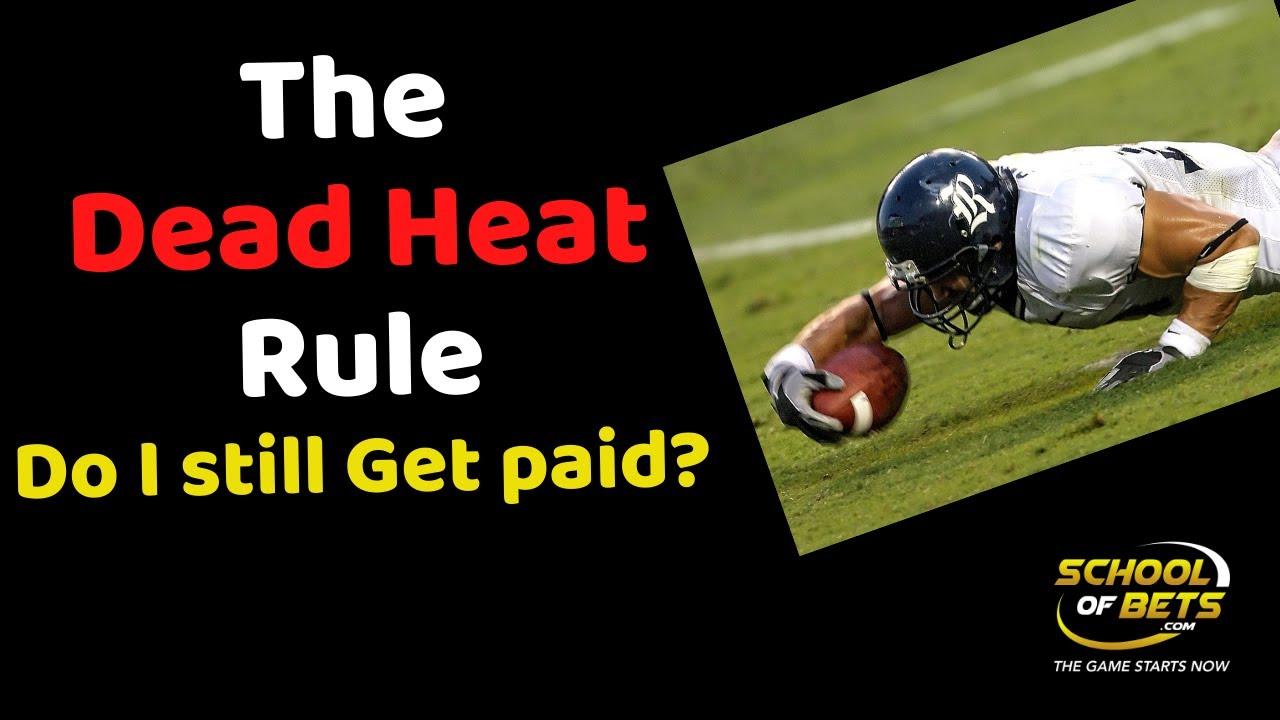 sports betting dead heat rules