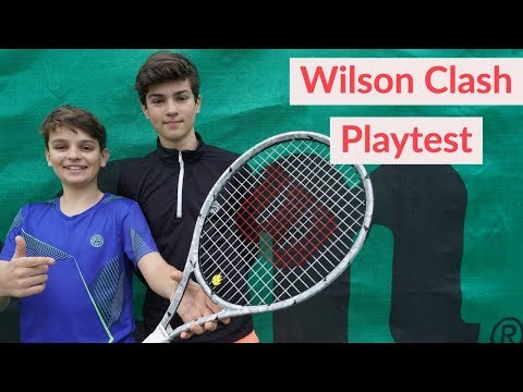 Is this the future of tennis rackets? - Wilson Clash Playtest