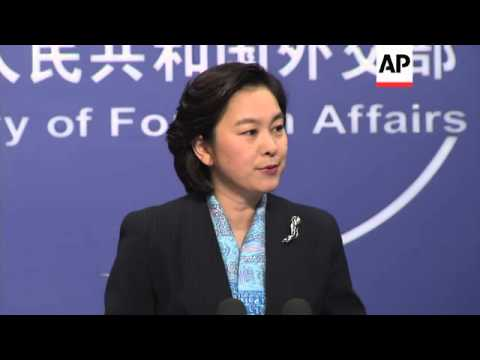 Chinese Foreign Affairs Ministry news briefing, comment on Koreas and Kerry's visit