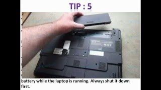 TIPS TO TAKE CARE OF YOUR LAPTOP