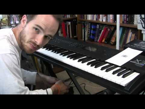 Korg x3 keyboard review demo with worship leader jared stepp youtube