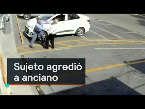 Sujeto agrede a anciano en Naucalpan de Juárez - Despierta con Loret