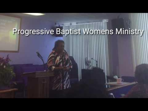 Progressive Baptist womens ministry