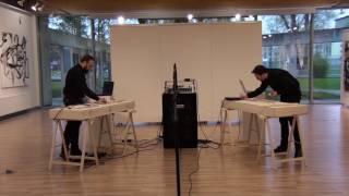 """Gambar cover Audio performance """"Laboratorium dźwięku"""" Maciej Przybylski, Mikołaj Fajfer"""