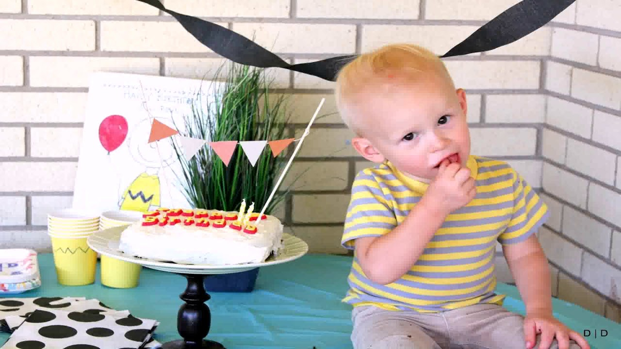 Baby Boy 2nd Birthday Decoration Ideas