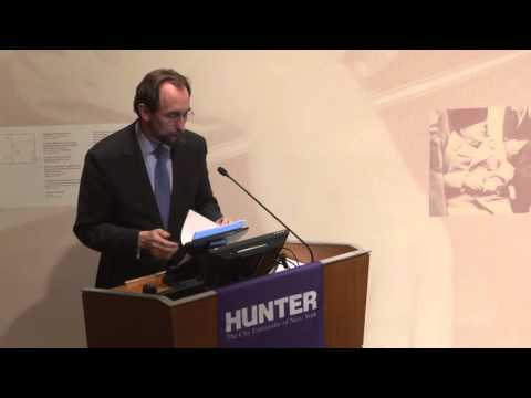 Challenges to Human Rights: Zeid Ra'ad Al Hussein, UN High Commissioner for Human Rights