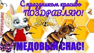 Медовый Спас прикольные поздравления и пожелания с медовым спасом