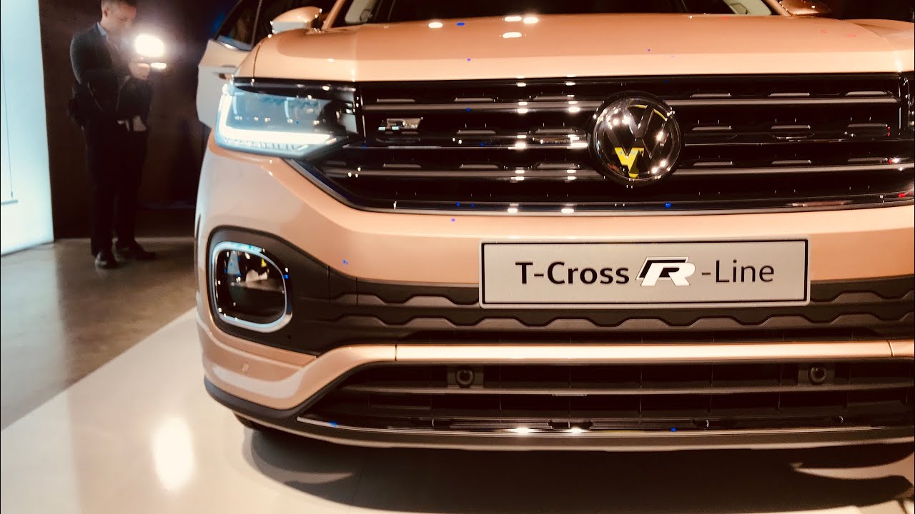 volkswagen t cross 2019 pi piccola della t roc con una. Black Bedroom Furniture Sets. Home Design Ideas