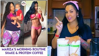 (2019) My morning routine for weightloss: Herbalife shakes, tea, prolessa