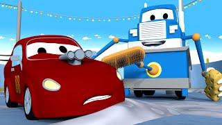 Заливочная машина - Трансформер Карл в Автомобильный Город 🚚 ⍟ детский мультфильм