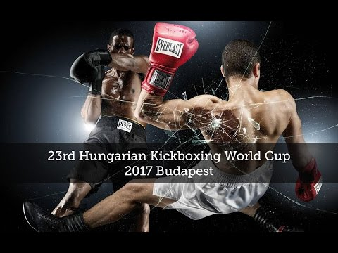 23rd Hungarian Kickboxing World Cup – 2017 Budapest - Day 1.