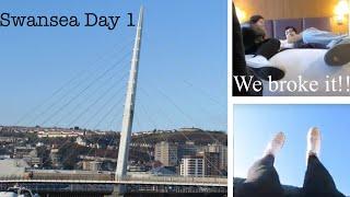 Swansea Trip Day 1