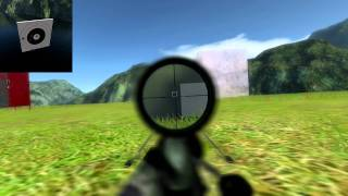Sniper simulation WIP: Ballistics & Wind/weather meter