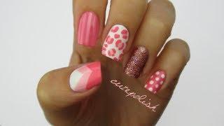 Nail Art: Pretty In Pink