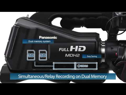 Panasonic Full-HD Camcorder HC-MDH2