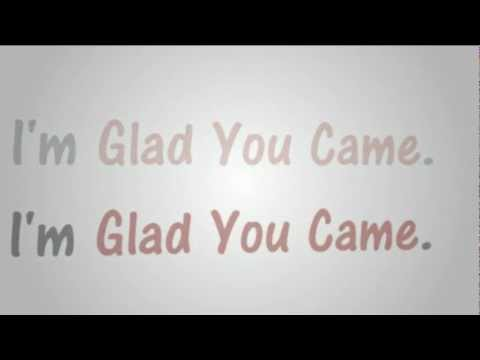 Glad You - Came - Megan Nicole Cover (The Wanted) Lyrics