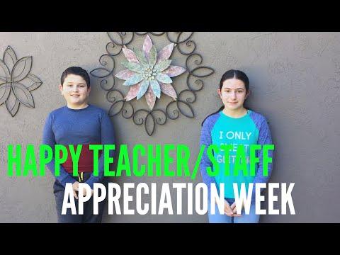 Joe Michell School Staff Appreciation Week 2020