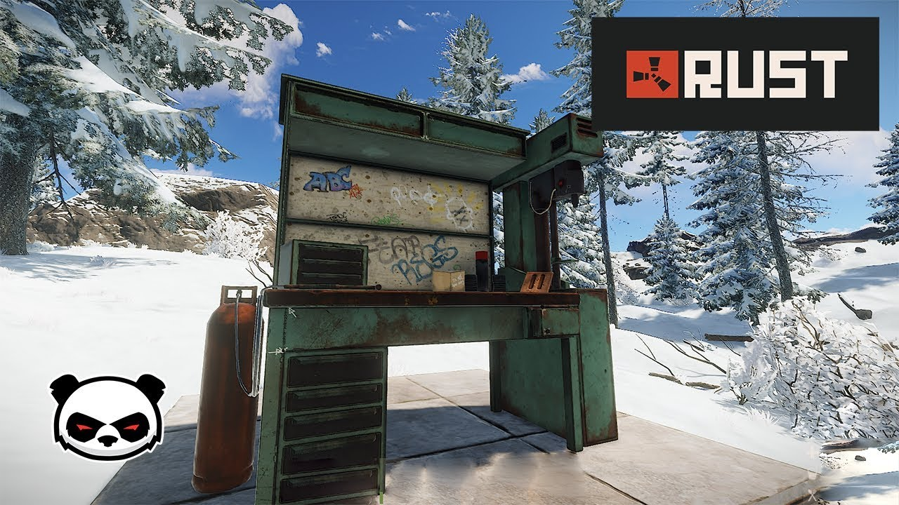 Rust Workbench Level 3 Full List Blueprints Blueprints Guide Youtube