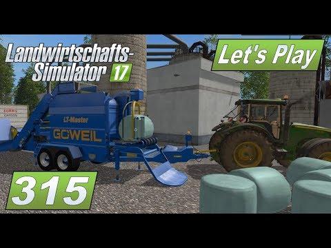 LS17 #315 Die Göweil Ballenpresse für Silage Rundballen #Lets Play Landwirtschafts Simulator 2017
