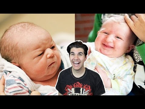 BABIES WHO LOOK LIKE MIDDLE-AGED MEN!