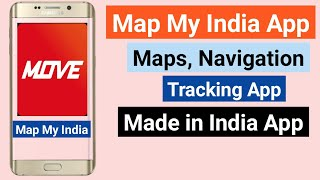 #MapMyIndia Move App For Maps Navigation & Tracking // Make In India App screenshot 5