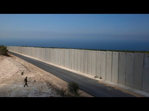 Israel Fortifies Borders With Lebanon With Large Wall
