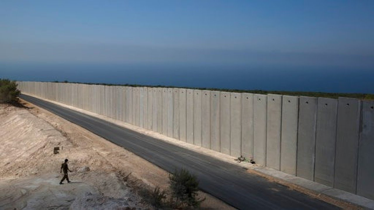 Israel Fortifies Borders with Lebanon with Large Wall ...